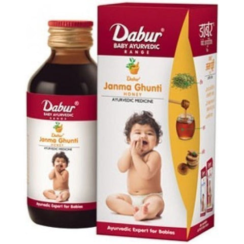2 x Dabur Janma Ghunti Honey 125 ml each - alldesineeds