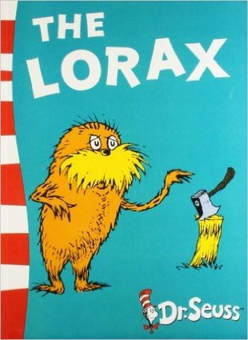 The Lorax ISBN10: 7414293  ISBN13: 978-0007414291  Article condition is new. Ships from india please allow upto 30 days for US and a max of 2-5 weeks worldwide. we are a small shop based in india. we request you to please be sure of the buy/product to avoid returns/undue hassles. Please contact us before leaving any negative feedback. for USD 9.34