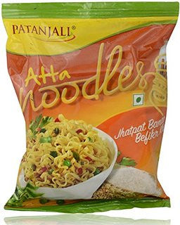 Buy 12 x Patanjali Atta Noodles, 70 gms each (840 gms) online for USD 18.32 at alldesineeds