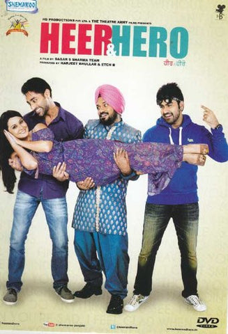 Buy Heer and Hero: PUNJABI DVD online for USD 8.99 at alldesineeds