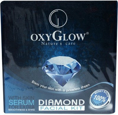 Oxyglow Diamond Facial Kit, 165g - alldesineeds