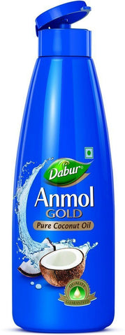 Dabur Anmol Gold Pure Coconut Oil, 500ml (Narrow Mouth) - alldesineeds