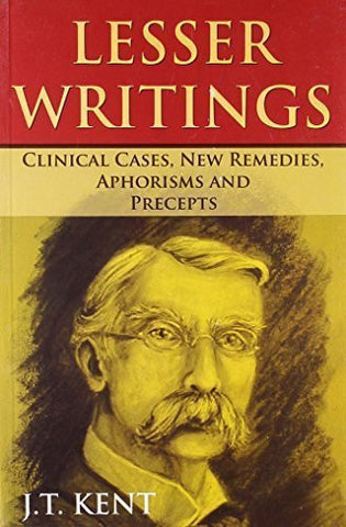 Buy Lesser Writings: Clinical Cases, New Remedies, Aphorisms & Precepts [Paperback online for USD 30.4 at alldesineeds