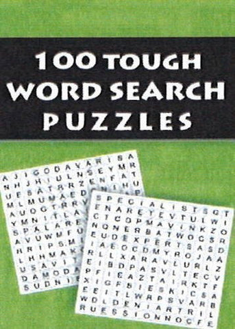 Buy 100 Tough Word Search Puzzles [Feb 26, 2013] Leads Press online for USD 7.86 at alldesineeds