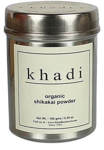 Buy Khadi Organic Shikakai Powder 150 gms online for USD 7.99 at alldesineeds