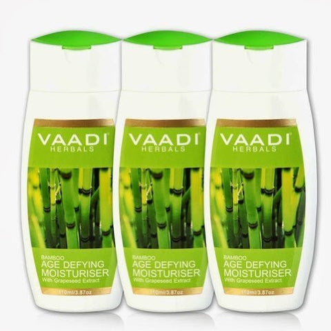 Buy Vaadi Herbals Bamboo Age Defying Moisturiser 3x110ml online for USD 20.78 at alldesineeds