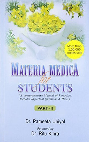 Buy Materia Medica for Students: A Comprehensive Manual of Remedies: Includes Important online for USD 29.96 at alldesineeds