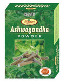 Buy Khadi Manav Ashwagandha powder 125gms x 2 online for USD 11.45 at alldesineeds