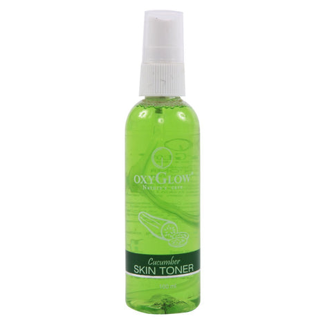 2 Pack Oxyglow Cucumber Skin Toner, 100ml each - alldesineeds
