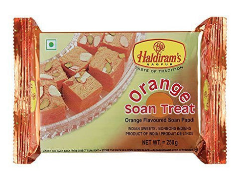 Buy 2 X Diwali Sweets - Soanpapdi, Orange, 500gms online for USD 72.32 at alldesineeds