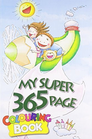 Buy My Super 365 Page Colouring Book [Aug 01, 2012] B. Jain Publishers online for USD 17.22 at alldesineeds