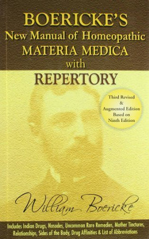 Buy Boericke's New Manual of Homeopathic Materia Medica with Repertory [Hardcover online for USD 37.8 at alldesineeds