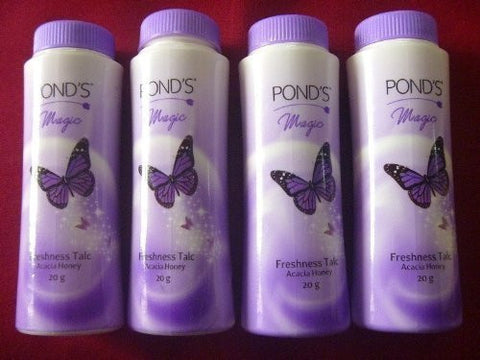 Buy 4 X Ponds Dreamflower Magic Face Freshnes Talcum Powder Brightening Talc 20g online for USD 7.97 at alldesineeds
