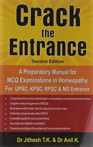 Buy Crack The Entrance [Mar 01, 2010] Dr. T.K. Jithesh & Dr. K. Anil online for USD 30.4 at alldesineeds