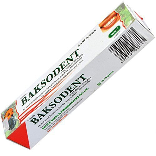 Buy Bakson Sunny Herbals Baksodent Toothpaste online for USD 10.69 at alldesineeds