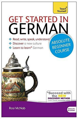 Buy Get Started in German Absolute Beginner Course: The essential introduction online for USD 21.63 at alldesineeds