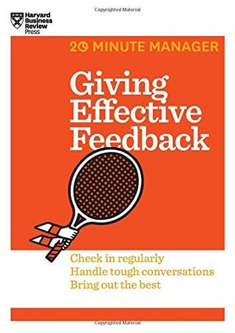 Buy Giving Effective Feedback (HBR 20-Minute Manager Series) [Paperback] [Oct 23, online for USD 13.74 at alldesineeds