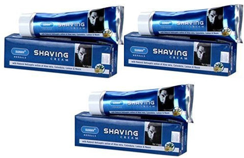 Baksons Sunny Shaving Cream Pack Of 3 by Baksons - alldesineeds