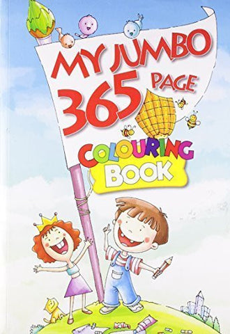 Buy My Jumbo 365 Page Colouring Book [Aug 01, 2012] B. Jain Publishers online for USD 17.22 at alldesineeds