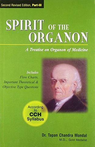 Buy Spirit of the Organon, 3rd Rev. Ed. - Vol. III (Includes Flow Charts, Important online for USD 24.08 at alldesineeds