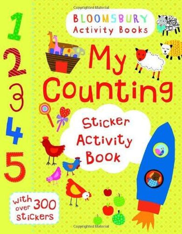 My Counting Sticker Activity Book [Aug 01, 2013] -] [[ISBN:1408190125]] [[Format:Paperback]] [[Condition:Brand New]] [[Author:MY COUNTING STICKER ACTIVITY BOOK -]] [[ISBN-10:1408190125]] [[binding:Paperback]] [[manufacturer:Bloomsbury Activity Books]] [[number_of_pages:16]] [[publication_date:2013-08-01]] [[brand:Bloomsbury Activity Books]] [[ean:9781408190128]] for USD 13.2