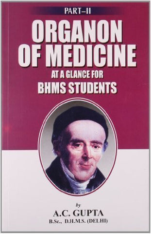 Buy Organon of Medicine at a Glance [Paperback] [Jun 30, 2004] Gupta, A. C. online for USD 8.36 at alldesineeds