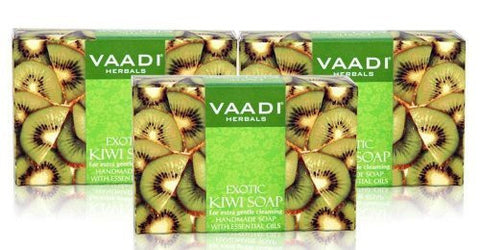 Buy Vaadi Herbals Exotic Kiwi Soap 3x75g online for USD 12.86 at alldesineeds