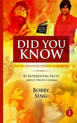 Buy Did you Know: For All Bollywood Obsessed Movie Buffs [Paperback] [Sep 26, online for USD 17 at alldesineeds
