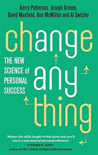 Buy Change Anything: The new science of personal success [Paperback] [May 01, online for USD 18.89 at alldesineeds
