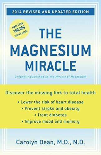 Buy The Magnesium Miracle (Revised and Updated) [Paperback] [Dec 26, 2006] Dean online for USD 27.64 at alldesineeds