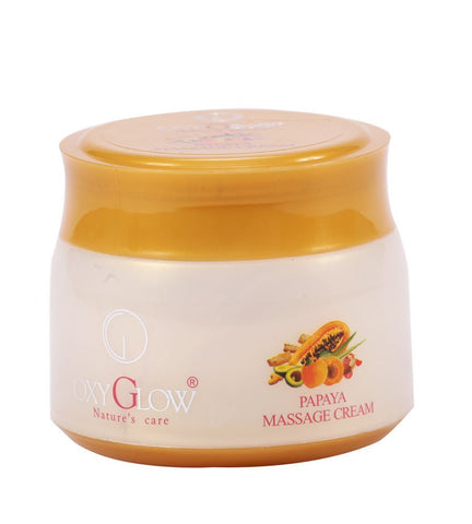 Buy Oxyglow Papaya Massage Cream, 500g online for USD 25 at alldesineeds