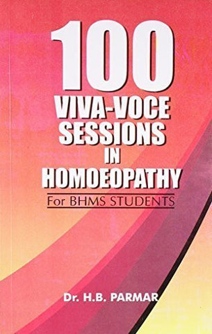 Buy 100 Viva-voce Sessions in Homoeopathy [Paperback] [Jun 30, 2003] Parmar, H. B. online for USD 13.36 at alldesineeds