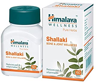 10 Pack of Himalaya Wellness Shallaki Bone & Joint Wellness | Reduces pain and inflammation | Tablets - 60 Count