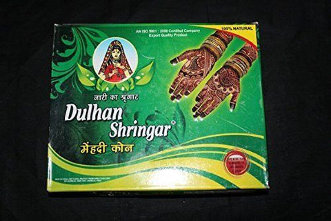 Buy 3 Dulhan Shringar Mehndi Cones (30 gms each) + 3 Eyelashes liner online for USD 13.24 at alldesineeds
