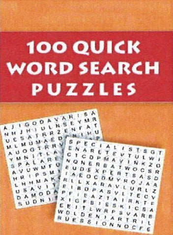Buy 100 Quick Word Search Puzzles [Jul 24, 2012] Leads Press online for USD 12.92 at alldesineeds