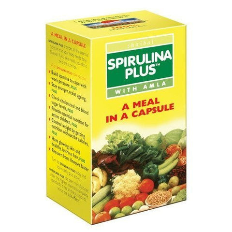 Buy 3 x Goodcare Herbal Spirulina Plus 60 Capsules online for USD 17.33 at alldesineeds