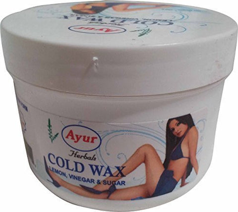 Buy 3 Pack Ayur Cold Wax 150 gms each (Total 450 gms) online for USD 17.38 at alldesineeds