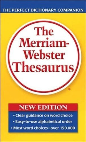 Buy The Merriam-Webster Thesaurus [Mass Market Paperback] [Feb 01, 2006] Merriam- online for USD 25.77 at alldesineeds