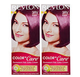 Buy Revlon Combo of Color N Care Hair Color - Burgundy 3Rv online for USD 17.31 at alldesineeds