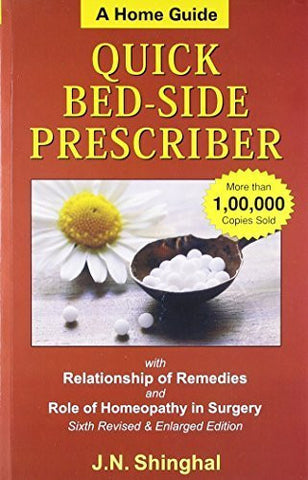 Buy Homoeopathic Quick Bed-side Prescriber: A Home Guide With Notes on Clinical online for USD 27.44 at alldesineeds