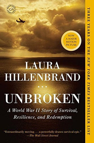 Buy Unbroken: A World War II Story of Survival, Resilience, and Redemption [Paperback online for USD 25.9 at alldesineeds