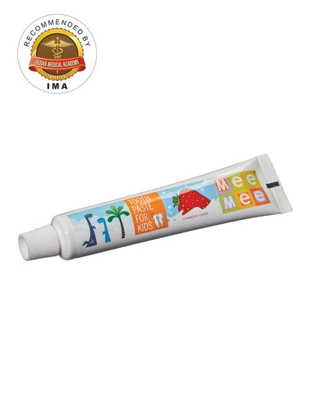 Mee Mee Fluoride-Free Strawberry Flavor Toothpaste 70g - alldesineeds