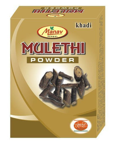 Buy Khadi Manav Mulethi powder 125gms x 2 online for USD 11.45 at alldesineeds