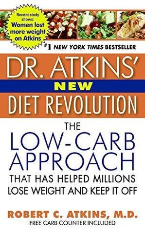 Buy Dr. Atkins' New Diet Revolution [Paperback] [Dec 29, 2009] Atkins, Robert online for USD 19.6 at alldesineeds