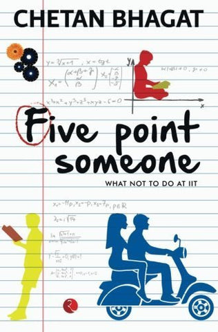 Buy Five Point Someone: What Not To Do at IIT [Paperback] [Jan 02, 2015] Bhagat, online for USD 18.6 at alldesineeds
