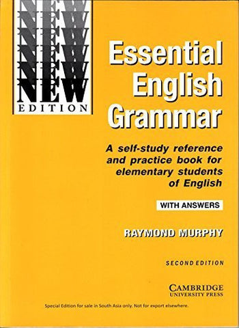 Buy Essential English Grammar [Paperback] [Dec 01, 2007] Murphy online for USD 21.08 at alldesineeds