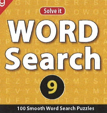 Buy Word Search 9: 100 Smooth Word Search Puzzles [Jul 23, 2013] Leads Press online for USD 6.88 at alldesineeds