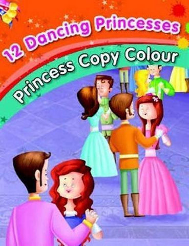 Buy 12 Dancing Princesses - Colouring Book [Jul 16, 2014] Pegasus online for USD 7.42 at alldesineeds