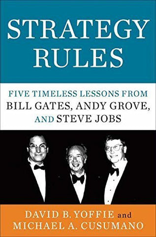 Buy Strategy Rules: Five Timeless Lessons from Bill Gates, Andy Grove and Steve online for USD 17.69 at alldesineeds