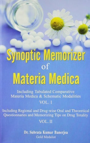 Buy Synoptic Memorizer of Materia Medica - Vol 1 and 2 in One Book [Paperback] online for USD 32.9 at alldesineeds